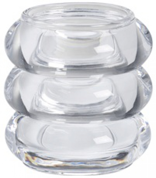 Glas Ring voor Relight Bolsius incl. Refill