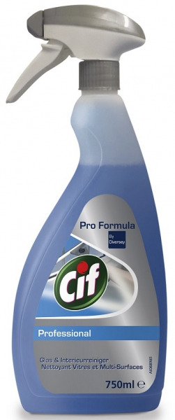 Glas & Interieurreiniger Cif Professional Spray