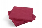 Servetten Tork Dinner Advanced 39x39cm  Burgundy Red  2lg. 4-vouw