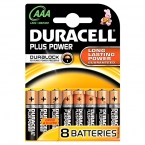 Duracell Batterijen Plus Power AAA LR03 MN2400 Groen