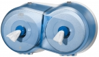 Dispenser Tork SmartOne Mini Twin Toiletpapier Blauw T9