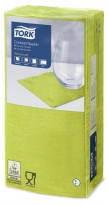Servetten Tork Cocktail 24x24cm Lime 4-vouw