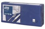 Servetten Tork Lunch Advanced 33x33cm Dark Blue 2lg. 4-vouw