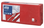 Servetten Tork Lunch Advanced 33x33cm Red 2lg. 4-vouw