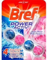 Bref WC Power Activ Pink Flowers Wc Blok